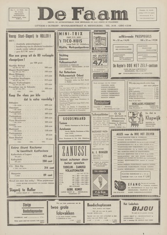 de Faam en de Faam/de Vlissinger 1969-02-20