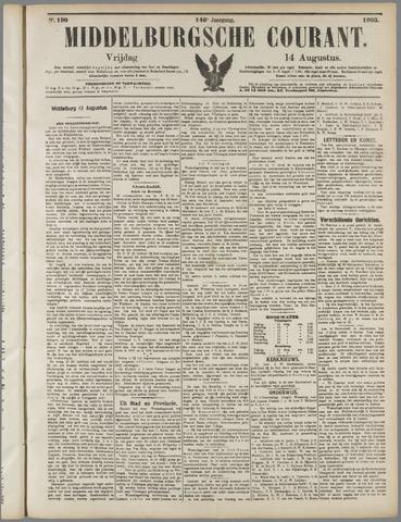 Middelburgsche Courant 1903-08-14