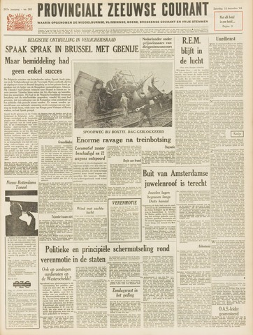 Provinciale Zeeuwse Courant 1964-12-12