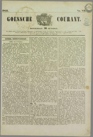 Goessche Courant 1851-10-16