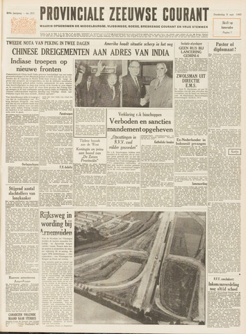 Provinciale Zeeuwse Courant 1965-09-09