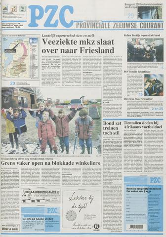 Provinciale Zeeuwse Courant 2001-04-12