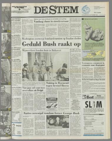 de Stem 1991-09-26