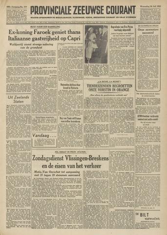Provinciale Zeeuwse Courant 1952-07-30