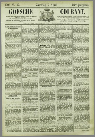 Goessche Courant 1906-04-07