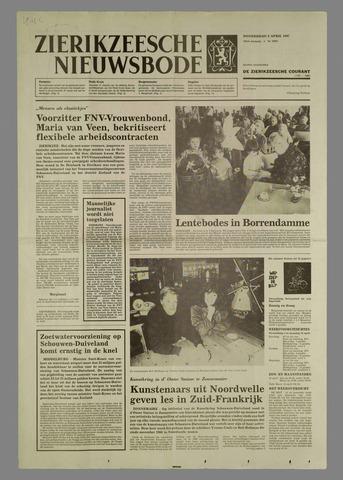 Zierikzeesche Nieuwsbode 1987-04-09
