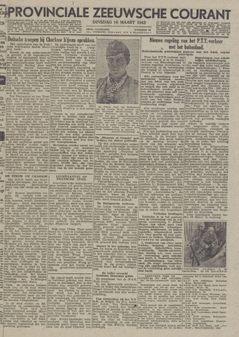 Provinciale Zeeuwse Courant 1943-03-16