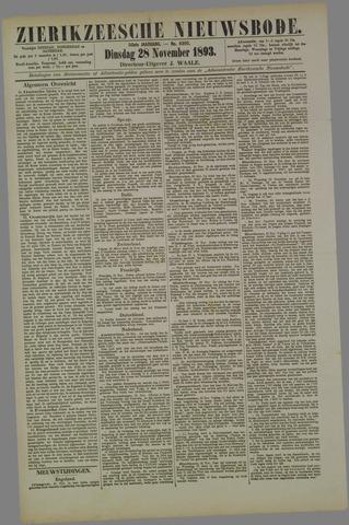 Zierikzeesche Nieuwsbode 1893-11-28