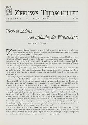 Zeeuws Tijdschrift 1958-01-01
