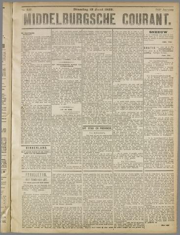 Middelburgsche Courant 1922-06-13