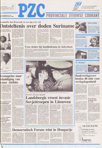 Provinciale Zeeuwse Courant 1990-03-28