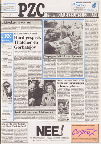Provinciale Zeeuwse Courant 1989-04-07