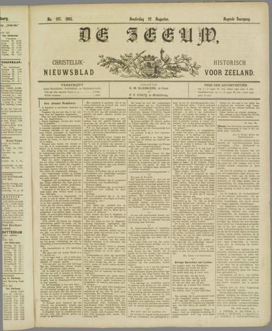 De Zeeuw. Christelijk-historisch nieuwsblad voor Zeeland 1895-08-22