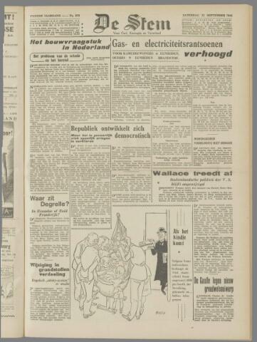 de Stem 1946-09-21
