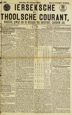 Ierseksche en Thoolsche Courant 1904-02-27