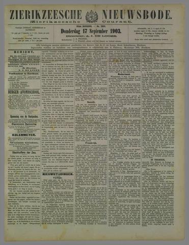 Zierikzeesche Nieuwsbode 1903-09-17