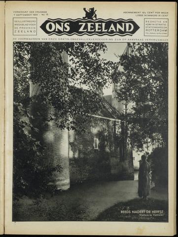 Ons Zeeland / Zeeuwsche editie 1934-09-07