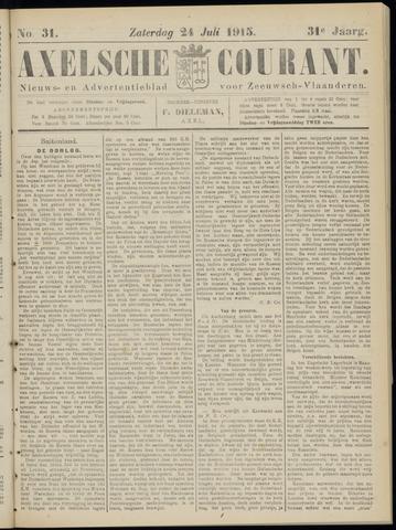 Axelsche Courant 1915-07-24