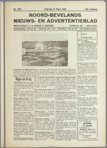 Noord-Bevelands Nieuws- en advertentieblad 1949-03-12