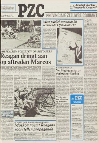 Provinciale Zeeuwse Courant 1986-02-25