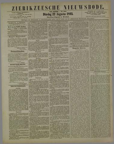 Zierikzeesche Nieuwsbode 1893-08-22