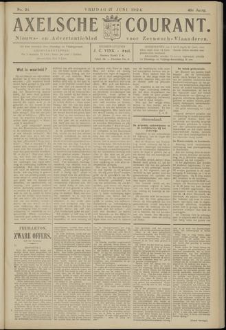 Axelsche Courant 1924-06-27