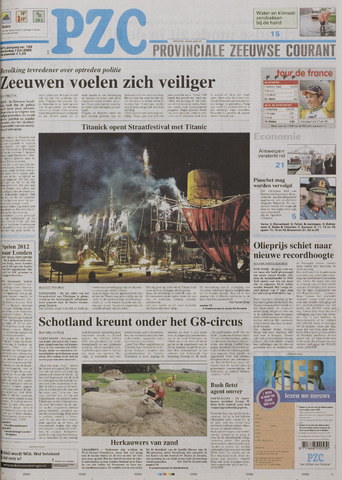 Provinciale Zeeuwse Courant 2005-07-07