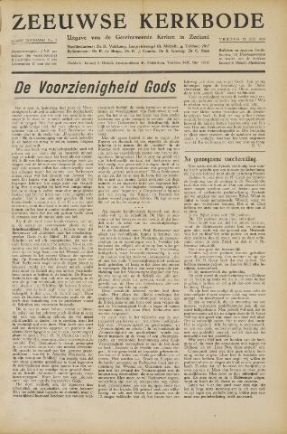 Zeeuwsche kerkbode, weekblad gewijd aan de belangen der gereformeerde kerken/ Zeeuwsch kerkblad 1950-07-21