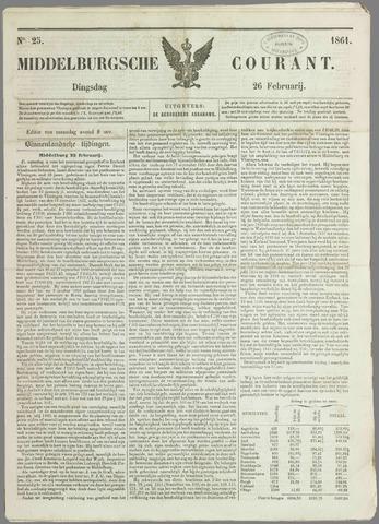 Middelburgsche Courant 1861-02-26