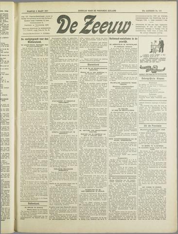 De Zeeuw. Christelijk-historisch nieuwsblad voor Zeeland 1937-03-08