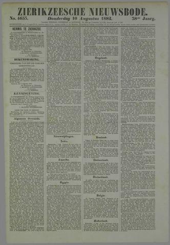 Zierikzeesche Nieuwsbode 1882-08-10