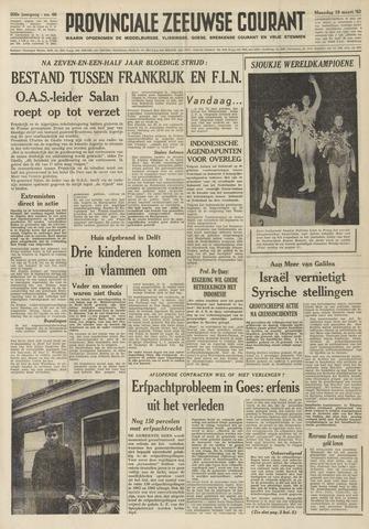 Provinciale Zeeuwse Courant 1962-03-19