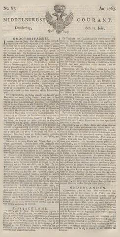 Middelburgsche Courant 1763-07-21
