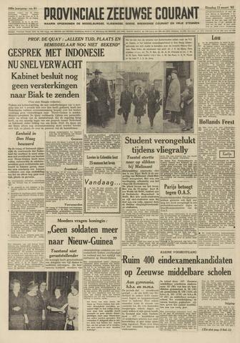 Provinciale Zeeuwse Courant 1962-03-13