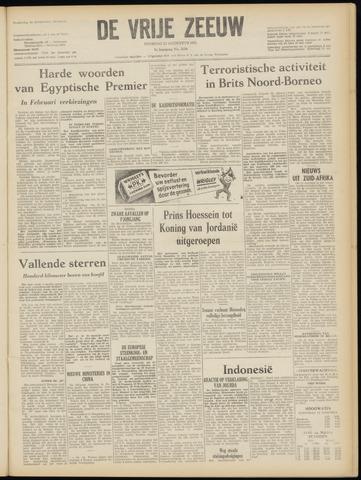 de Vrije Zeeuw 1952-08-12