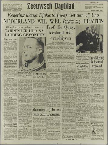 Zeeuwsch Dagblad 1962-05-25