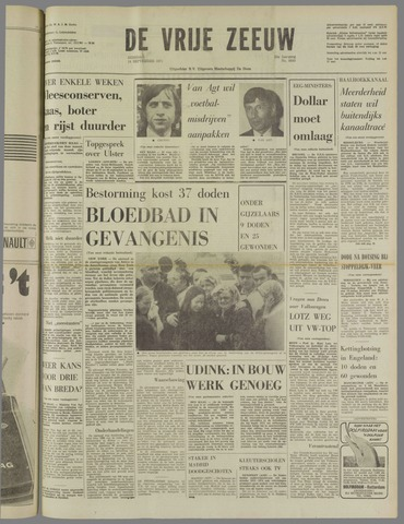 de Vrije Zeeuw 1971-09-14