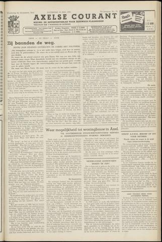Axelsche Courant 1958-07-19