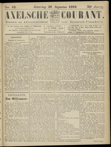 Axelsche Courant 1919-08-30