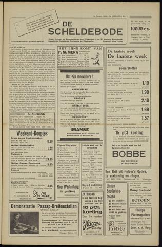 Scheldebode 1954-01-22