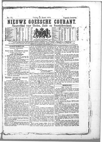 Nieuwe Goessche Courant 1874-03-13