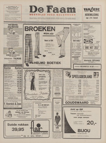 de Faam en de Faam/de Vlissinger 1971-11-11