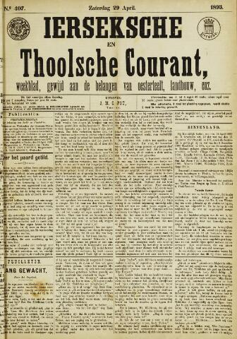 Ierseksche en Thoolsche Courant 1893-04-29