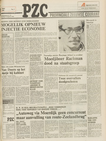 Provinciale Zeeuwse Courant 1975-08-16