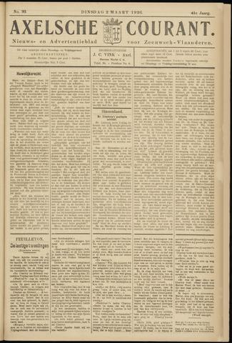 Axelsche Courant 1926-03-02