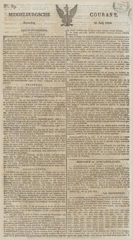Middelburgsche Courant 1829-07-25