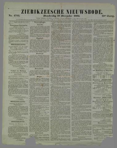 Zierikzeesche Nieuwsbode 1882-12-28