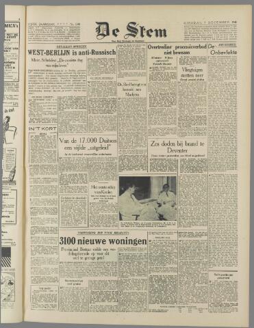 de Stem 1948-12-07