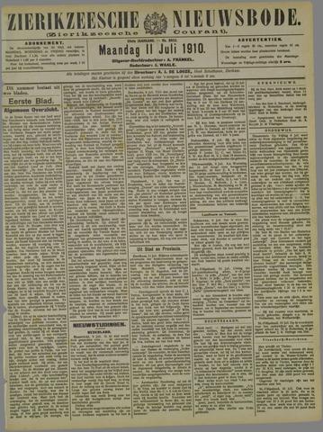 Zierikzeesche Nieuwsbode 1910-07-11