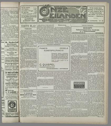 Onze Eilanden 1927-03-19